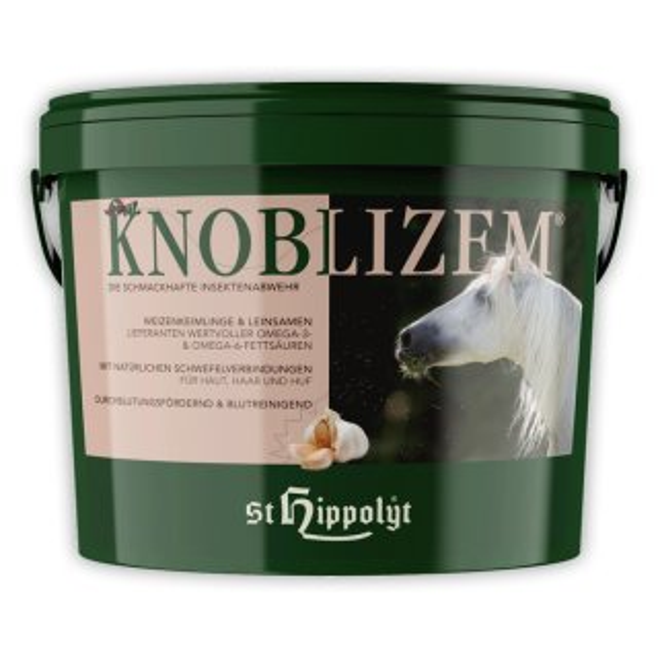 St.Hippolyt Knoblizem für Pferde