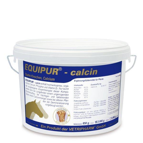 EQUIPUR calcin - Mineralfutter für starke Knochenstruktur